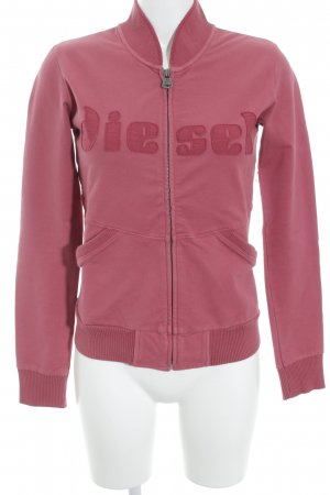 Diesel Sweatjacke lachs Casual-Look