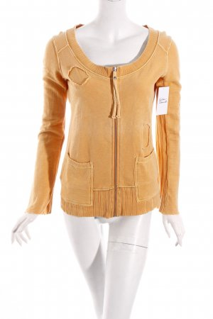 Diesel Sweatjacke orange Casual-Look