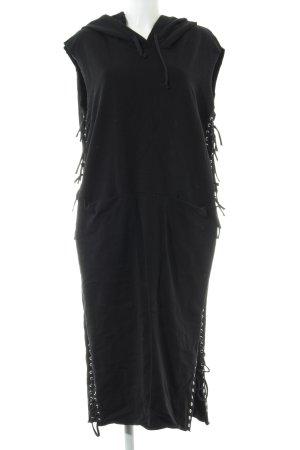 Diesel Sweat Dress black casual look