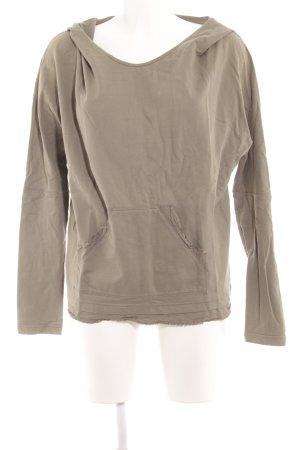 Diesel Sweatshirt grüngrau Casual-Look