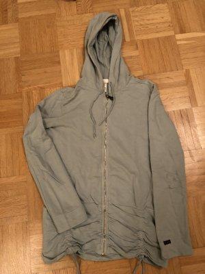 Diesel Sweatshirt-Jacke mit Kapuze
