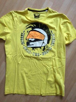 Diesel T-Shirt gelb Gr. L