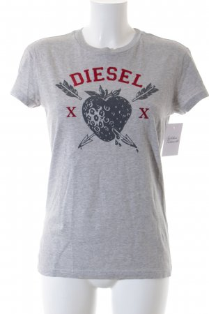 Diesel T-Shirt grafisches Muster Casual-Look
