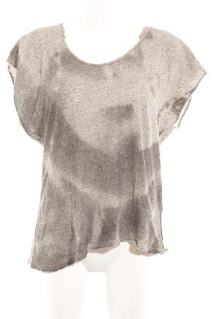 Diesel T-Shirt grau-anthrazit Casual-Look