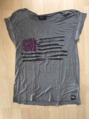 Diesel T-Shirt in grau, S