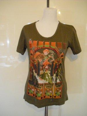 Diesel T-shirt olivgrün