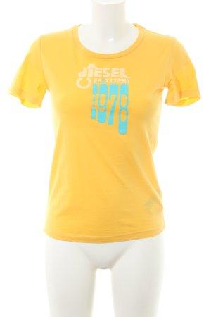 Diesel Camiseta letras impresas estilo sencillo