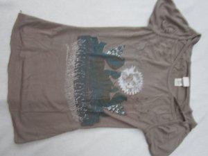 Diesel T-Shirt taupe Gr. 36/38