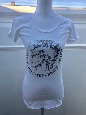 Diesel T-Shirt weiß Gr. S