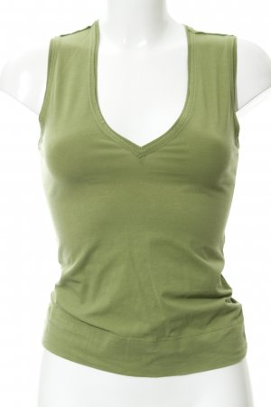 Diesel Tank Top olive green casual look