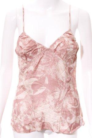 Diesel Trägertop rosa-rosé florales Muster Romantik-Look