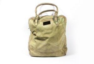 Diesel Shoulder Bag green grey-beige leather