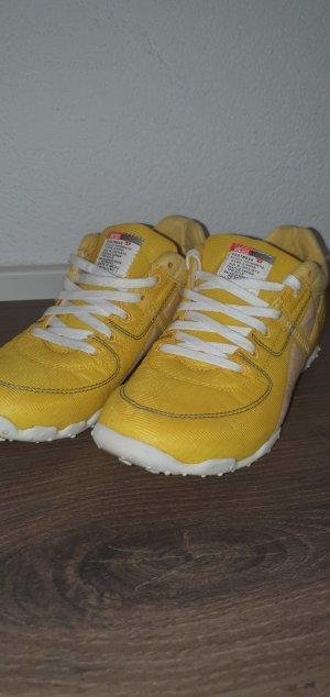Diesel High Top Sneaker gold orange
