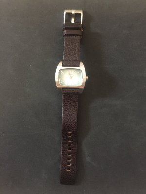 Diesel Watch With Leather Strap multicolored