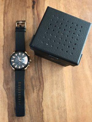 Diesel Uhr DZ 4347 schwarz Roségold 5 cm
