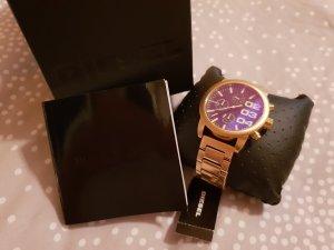 Diesel Reloj con pulsera metálica color oro
