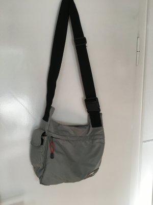 Diesel Sac bandoulière gris clair-orange
