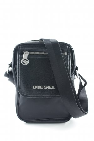 Diesel Umhängetasche schwarz Unisex-Artikel