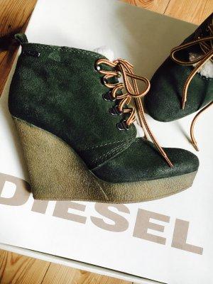 Diesel Wildlederboots Gr. 37+