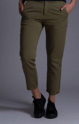 DIESEL Women's P-CASSIA Trousers mit Leinen, Gr. 23, NEU! NP:180€