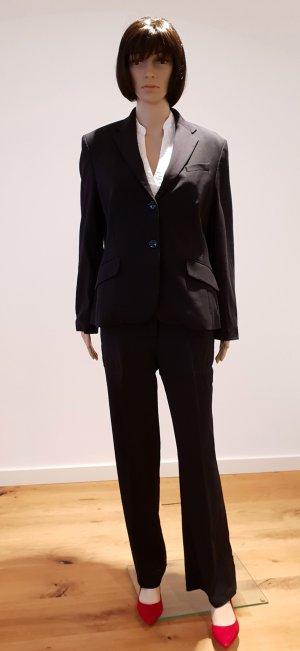 Daniel Hechter Business Suit black new wool