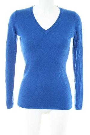 Different Cashmerepullover blau Casual-Look