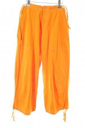 Dimensione Danza 3/4 Length Trousers light orange extravagant style