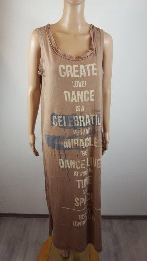 Dimensione Danza Abito blusa camicia bronzo-color cammello Cotone