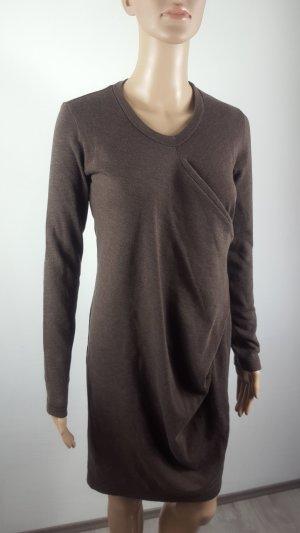 Dimensione Danza Sweaterjurk bruin-lichtbruin