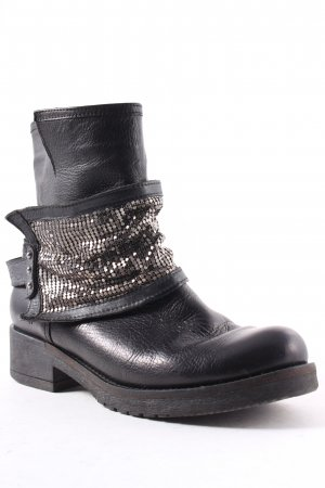 Dimensione Moda Boots black biker look