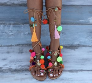 Roman Sandals multicolored