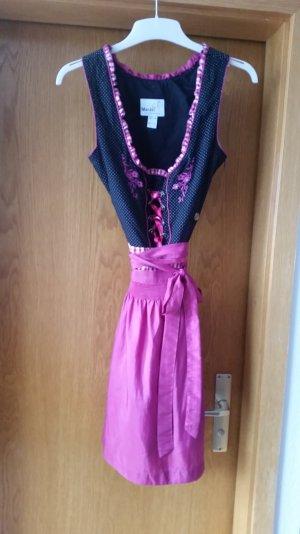 Dindel in schwarz/pink