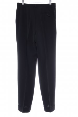 Dinomoda Bundfaltenhose schwarz Business-Look