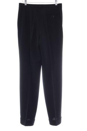 Dinomoda Pantalon à pinces noir style d'affaires