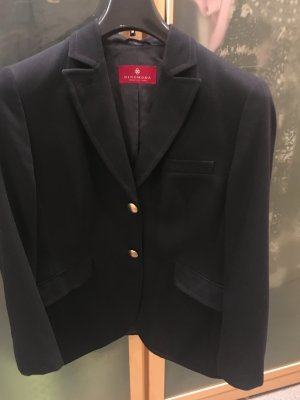 Dinomoda Wool Blazer black mixture fibre