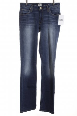 Dion Lee Skinny Jeans dunkelblau-stahlblau Casual-Look