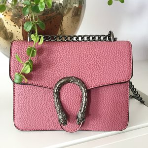 Dionysus Tasche altrosa neu rosa Silber Hardware