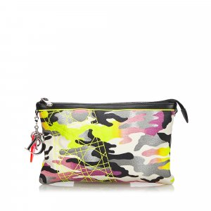 Dior Anselm Reyle Camouflage Pouch