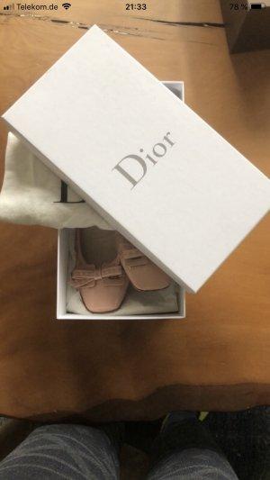 Dior Patent Leather Ballerinas pink