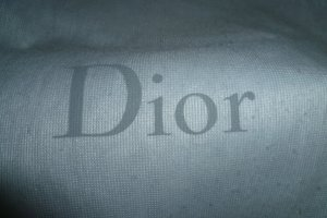Christian Dior Pouch Bag black-dark red leather
