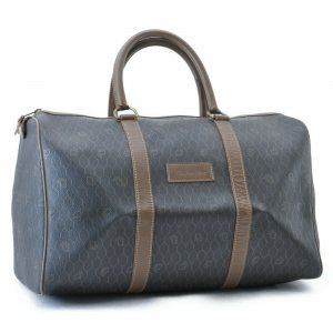 Dior Luggage black synthetic material