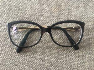 Dior Bril zwart-goud