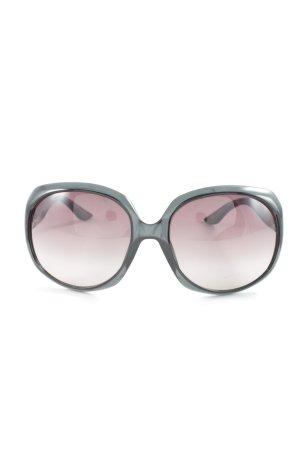 Dior Butterfly Brille schwarz-silberfarben Casual-Look