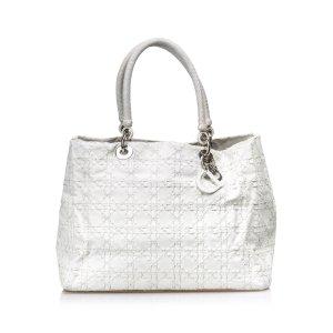 6a492e51f1afa Dior Cannage Leather Tote Bag