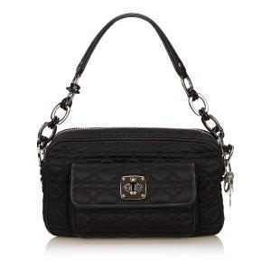 Dior Cannage Nylon Shoulder Bag