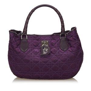 Dior Cannage Nylon Tote Bag