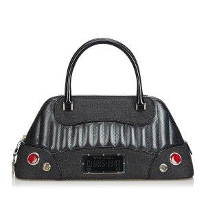 Dior Denim Montaigne Chris Handbag