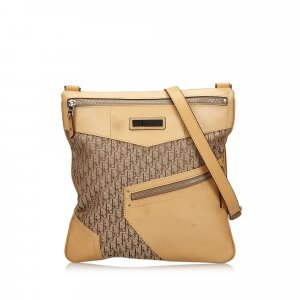Dior Dior Oblique Canvas Crossbody Bag