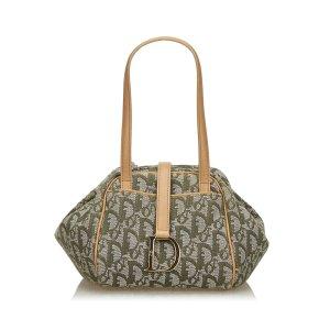 Dior Dior Oblique Canvas Handbag
