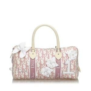 Dior Dior Oblique Canvas Trotter Boston Bag